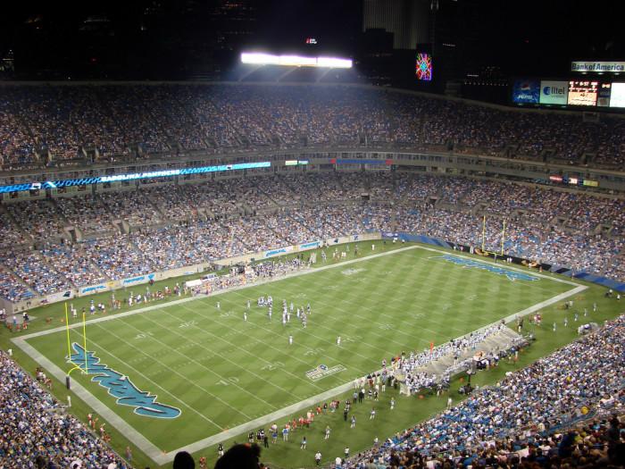 9. Bank of America Stadium