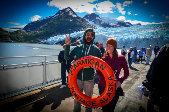 10. Peace Signs For Days: No tourist photo is complete without the dueces.