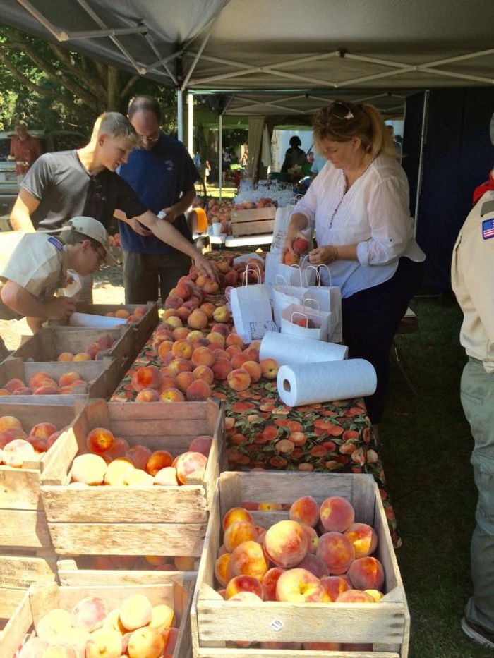The town has tons of events, including the delicious Berlin Peach Festival...