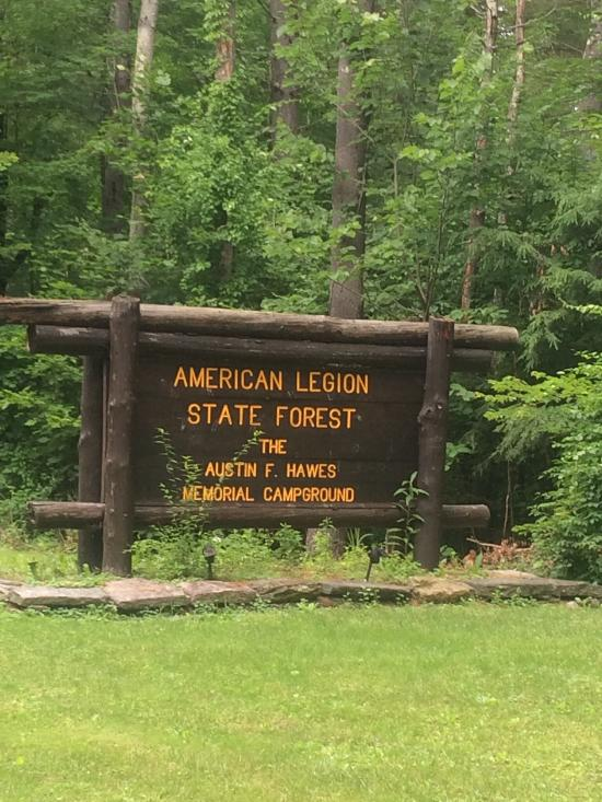 10. Austin F. Hawes Memorial Campground (Barkhamsted)