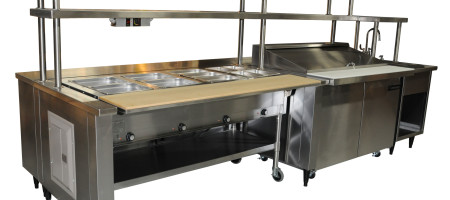 9. Commercial food service equipment