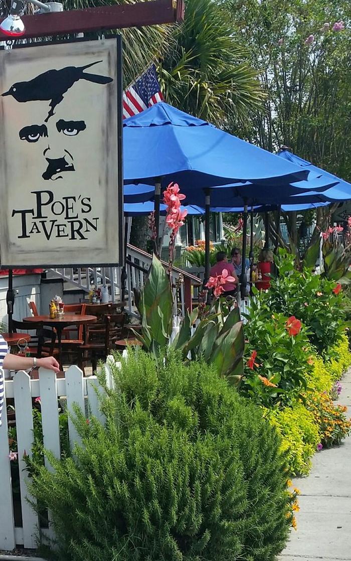 2. Poe's Tavern - 2210 Middle St, Sullivan's Island, SC