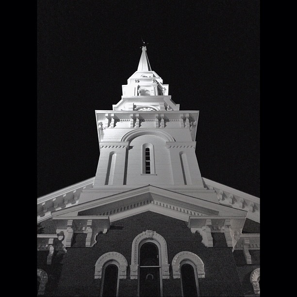 2. This Portsmouth church is stunning in black and white.