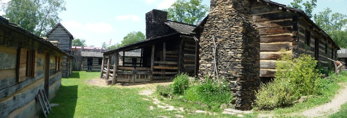9. Prickett Fort State Park