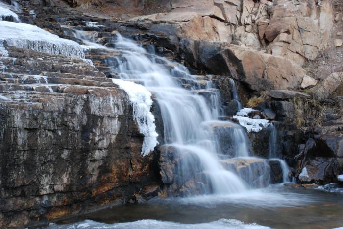 13. Provo River Falls, Mirror Lake Scenic Byway