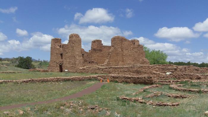 8. Quarai Ruins, near Mountainair