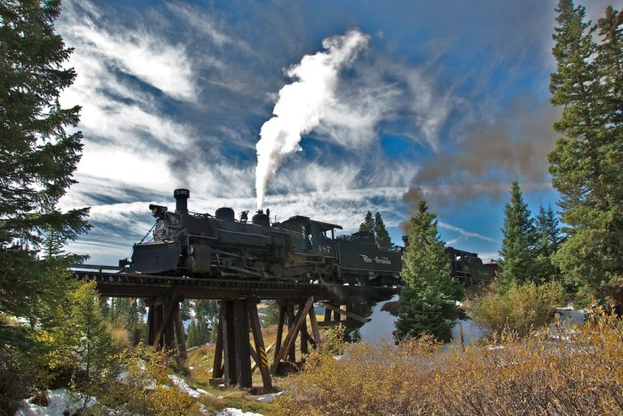 1.Ride the Cumbres and Toltec Scenic Railroad.