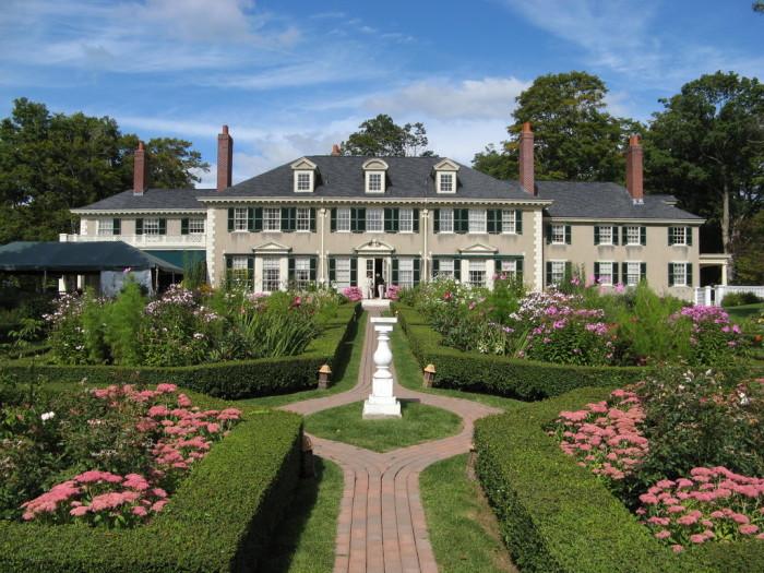 21.  Hildene, The Lincoln Family Home,