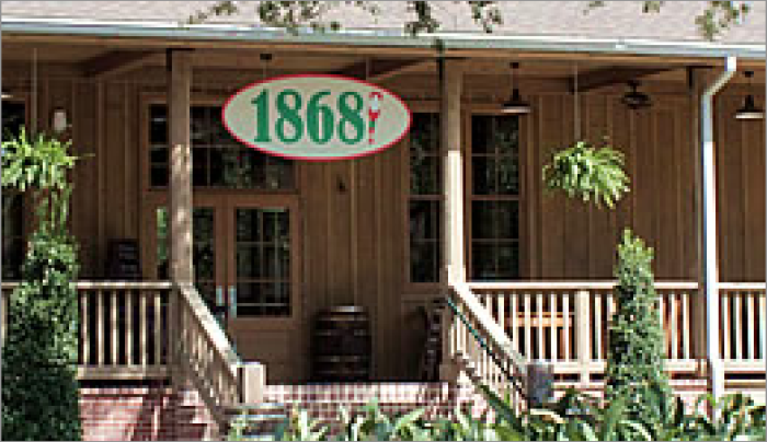 1. Restaurant 1868, Avery Island