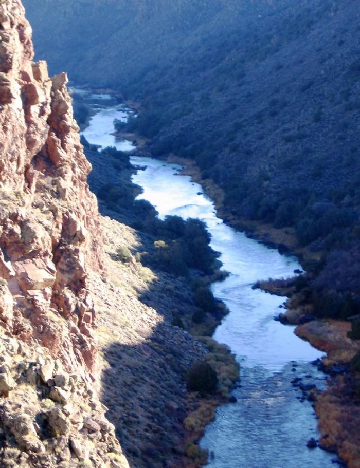 6. Rio Grande Gorge, near Taos