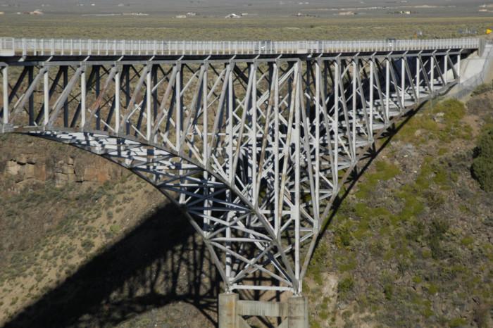 1. Cross the Rio Grande Gorge Bridge.