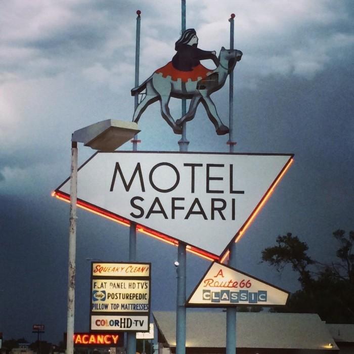 4. Motel Safari, 722 E Rt 66, Tucumcari