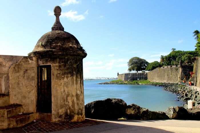 10. Or fly into San Juan, Puerto Rico and explore Old Town.