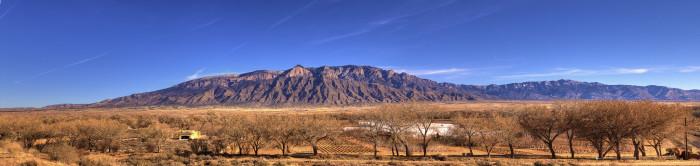 2. The Sandia Mountains, outside Albuquerque
