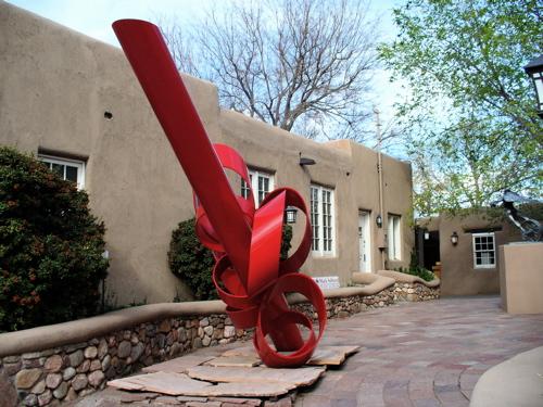 9. Santa Fe for the public art
