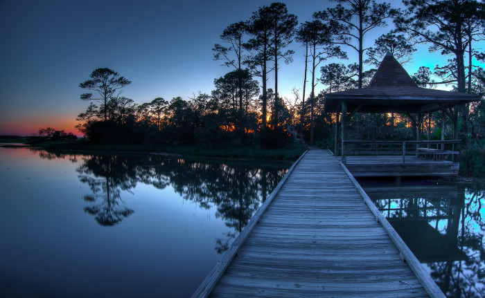 11. South Carolina is full of secret spots in nature where you can just relax.