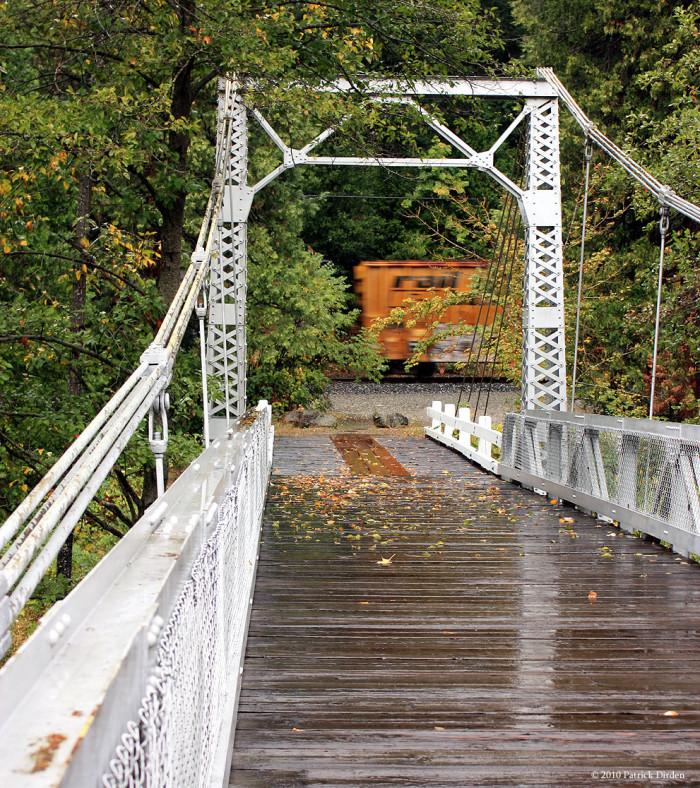 11. Sims Pedestrian Bridge - Dunsmuir