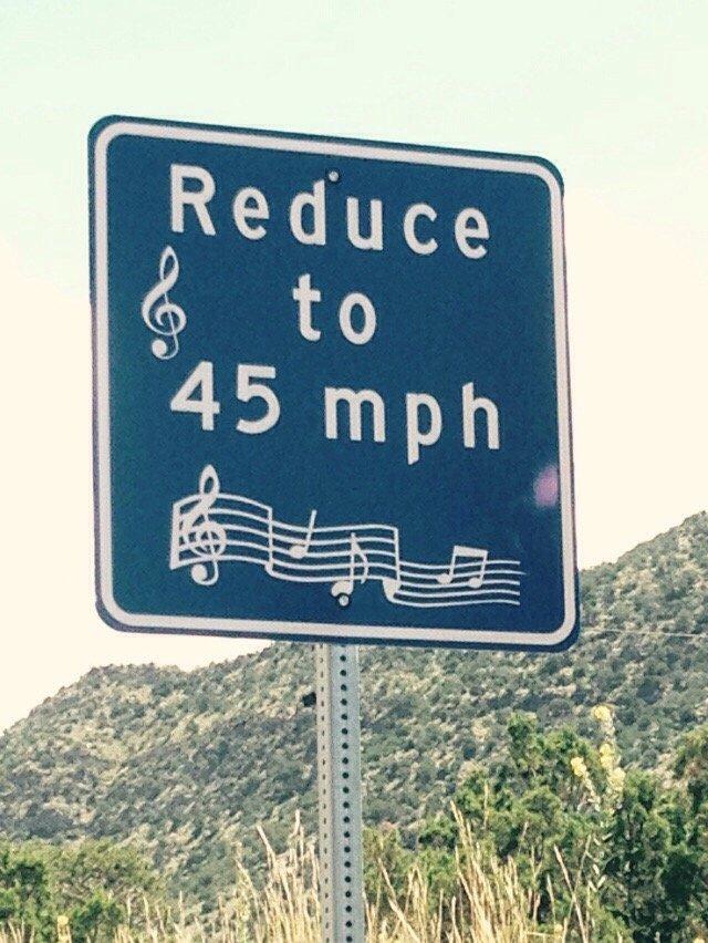 singing sign