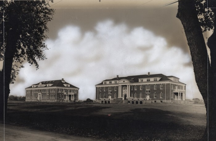 12. Robinson and Warner Halls at the University of Delaware, which in 1914 were built to house the Women's College