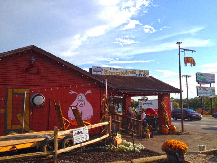 11. The Smokin Pig - 6630 Clemson Blvd, Pendleton, SC