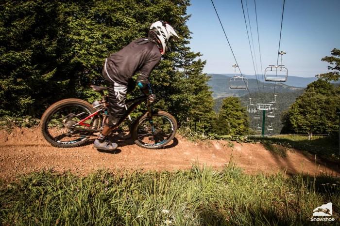 Snowshoe Mountain's Bike Park