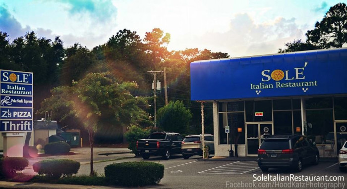 4. Sole Italian Restaurant - Myrtle Beach, SC