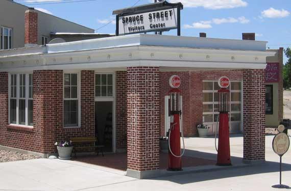 9. Spruce Street Station, Ogallala