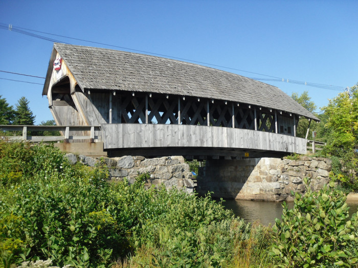 18. The Squam covered bridge is cute as can be.