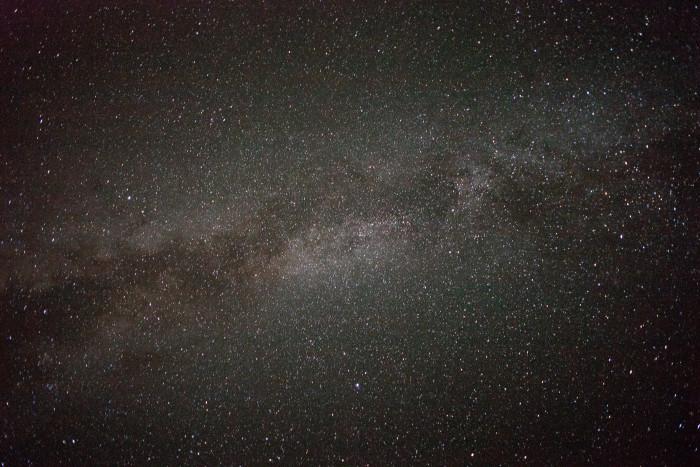 12. The stars over Glacier National Park.
