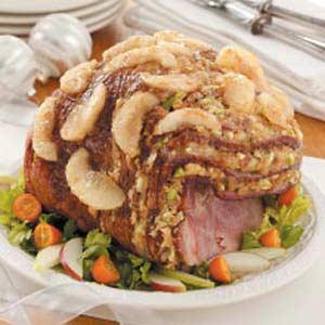 11. Stuffed Ham