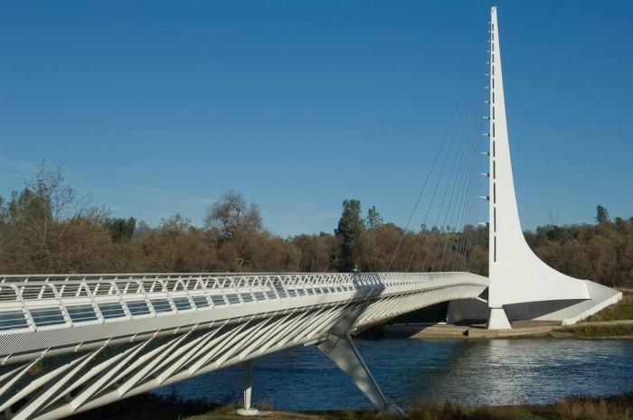 1. Sundial Bridge - Redding