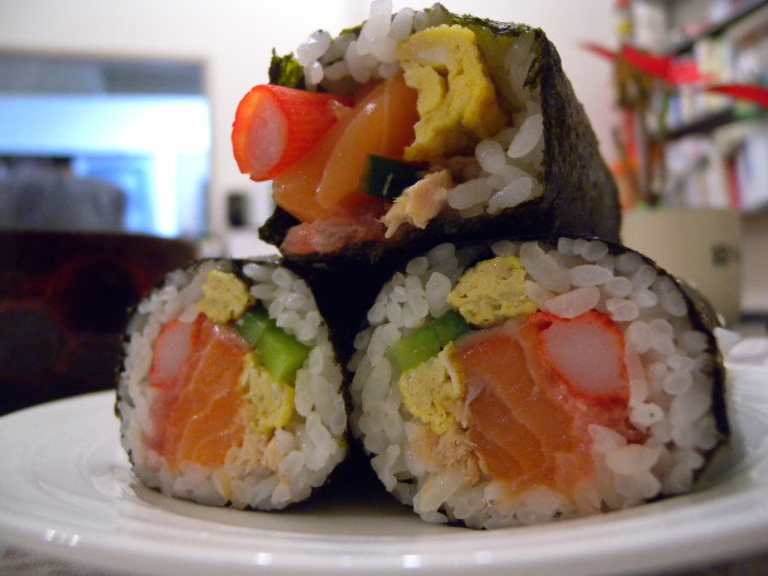 2. We DO eat our weight in Sushi.