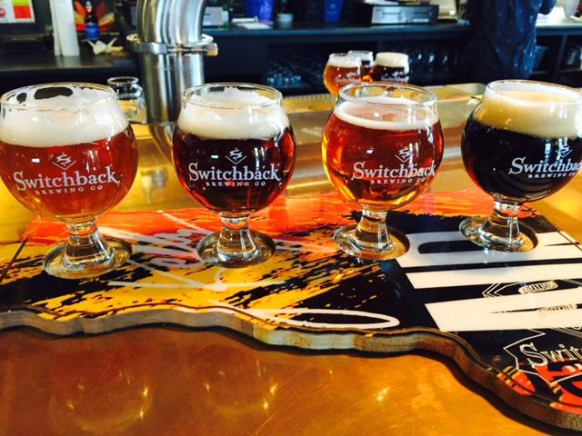 Switchback Brewery.