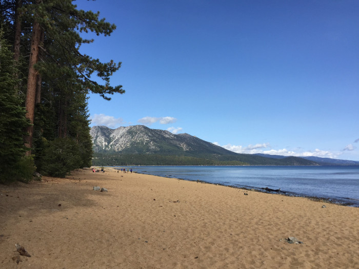 5. Kiva Beach at the Tallac Historic Site - South Lake Tahoe