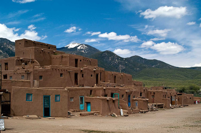 13. Taos Pueblo