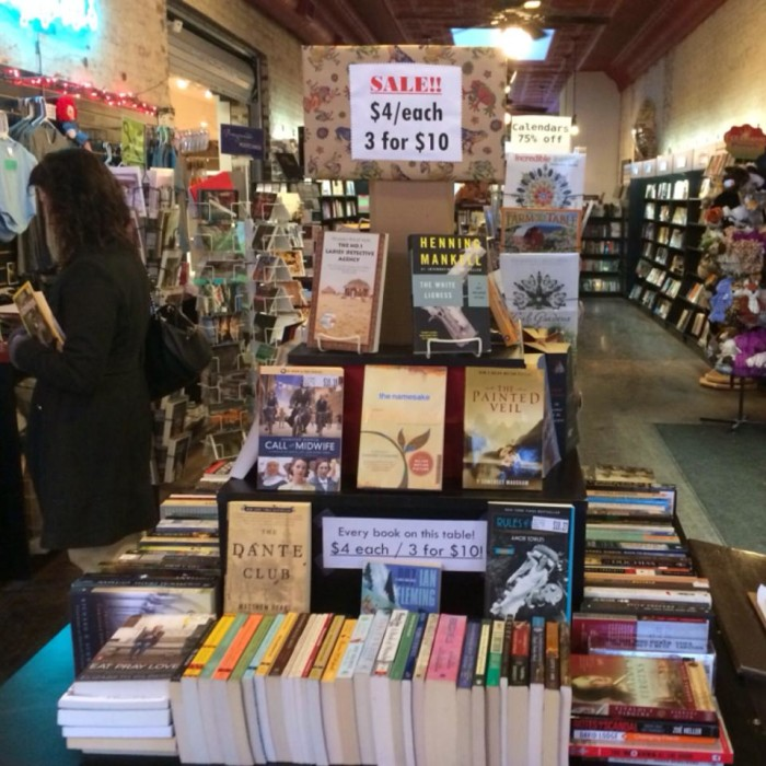7. Taylor Books in Charleston