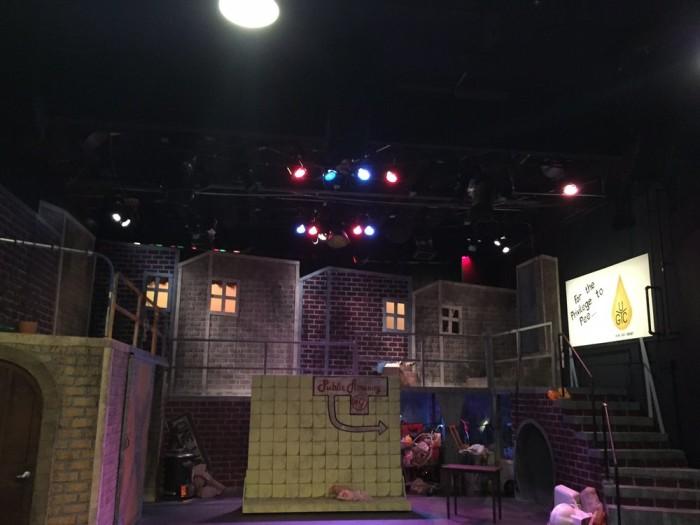 3. The theatre
