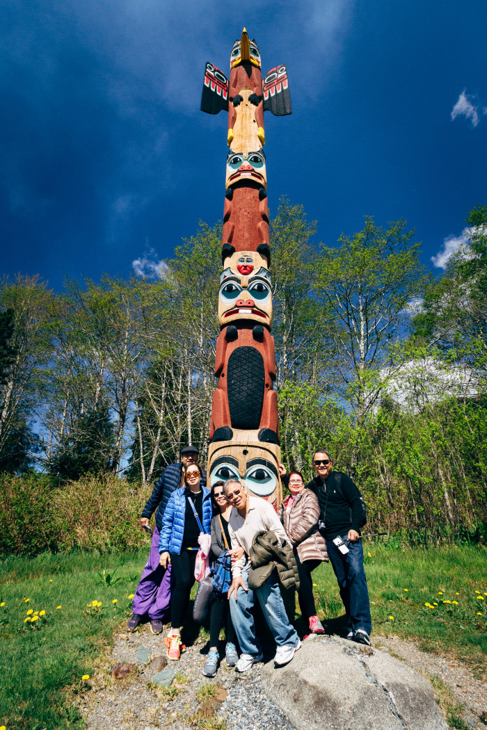 14. A Totem Pole: Must all gather 'round.