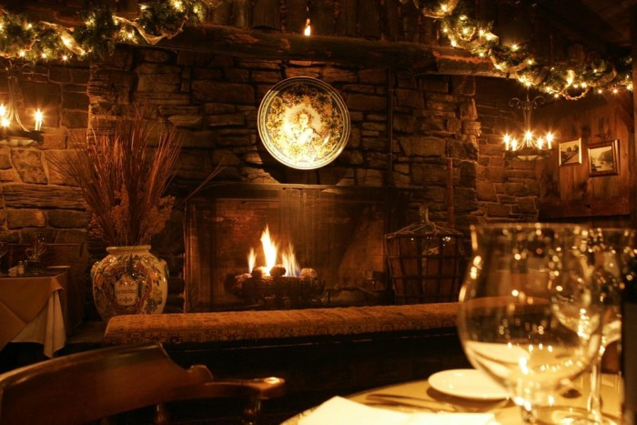 14.  Romantic dinner