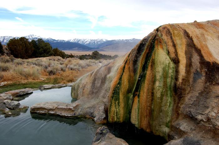 4. Travertine Hot Springs in Bridgeport, California