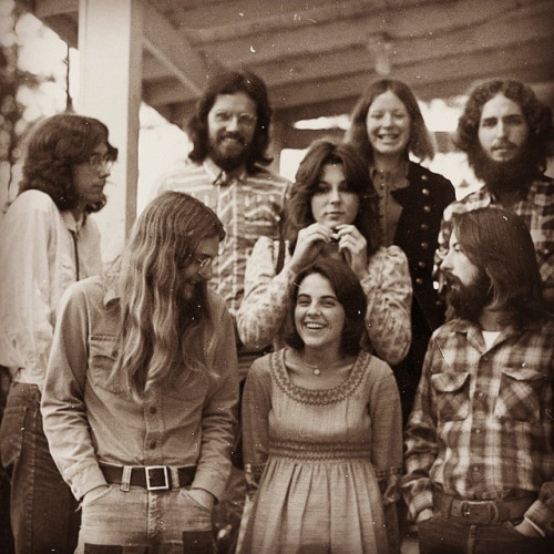 10. A group of students at LA Tech in the 1970's