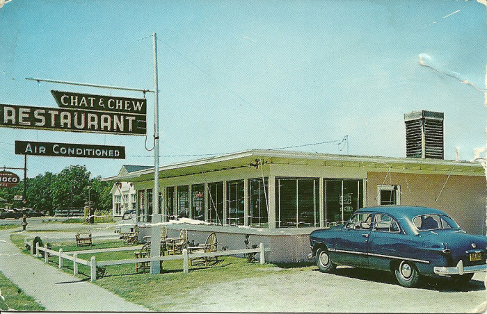 6. Turbeville - The Chat n Chew in the 1950s.