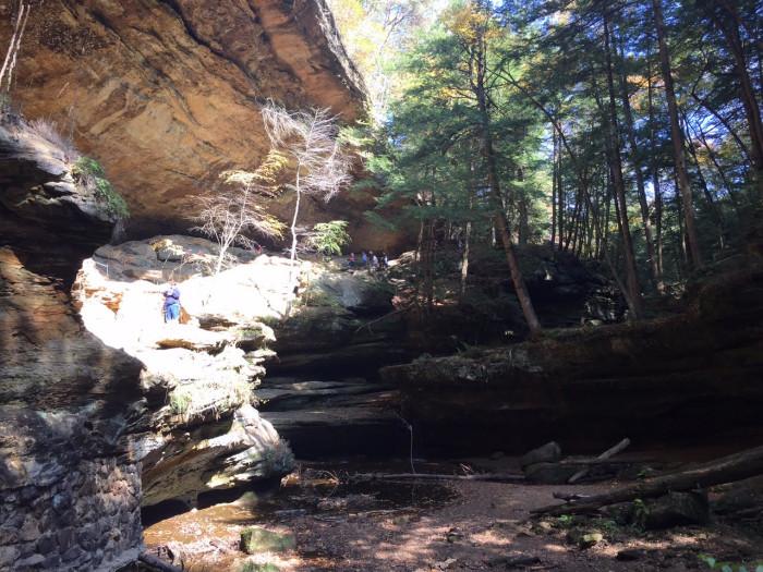 1. Od Man's Cave (Hocking Hills State Park)