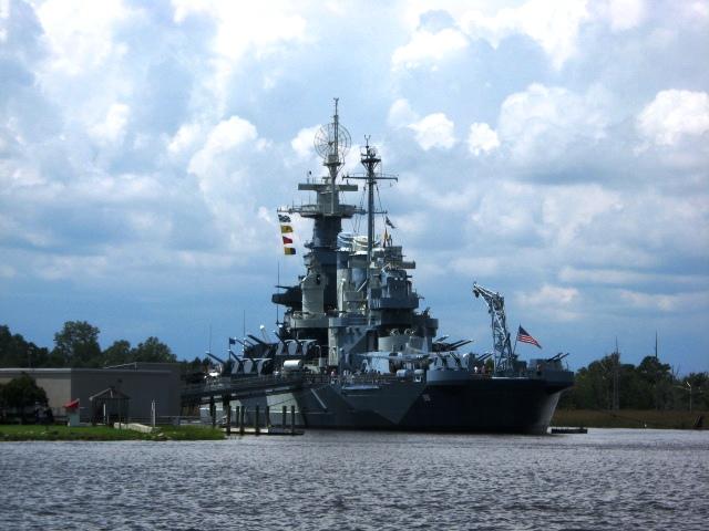 14. USS North Carolina