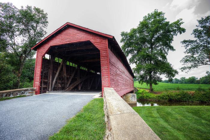 3. Utica Mills Covered Bridge