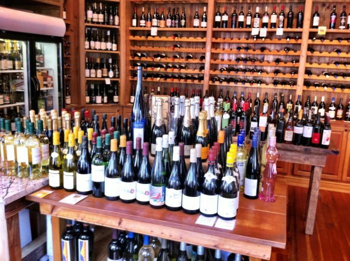 waterfront wine