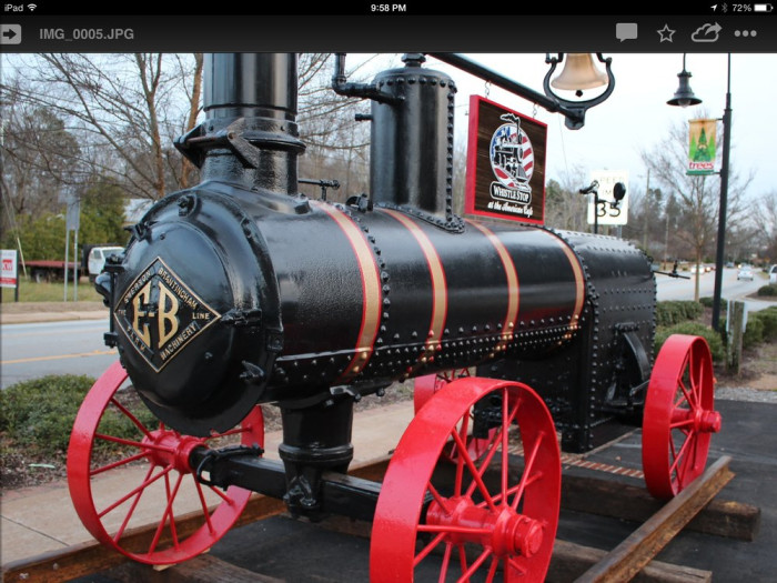 6. The Whistle Stop at the American - 109 S. Main St, Travelers Rest, SC