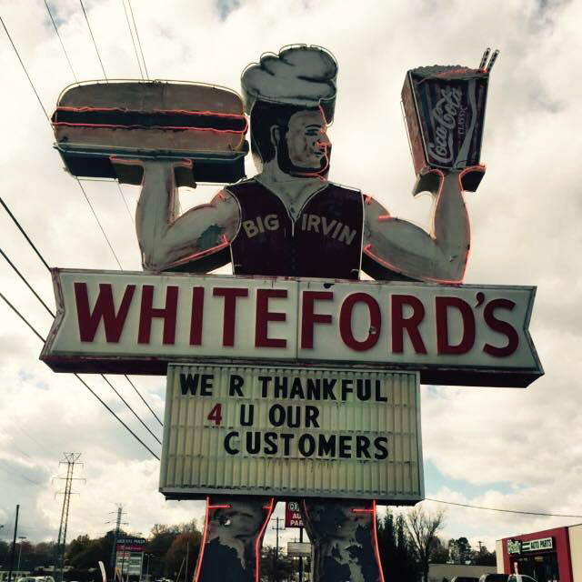 10. Whiteford's Giant Burgers - Laurens