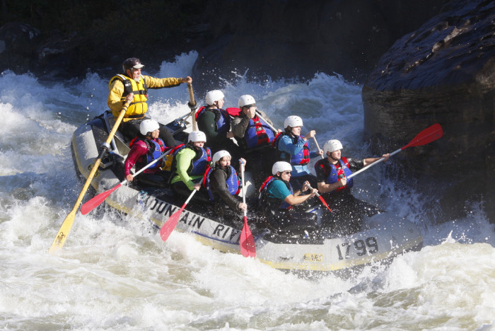 8. You probably can't handle our amazing whitewater. It's some of the best in the Eastern United States.