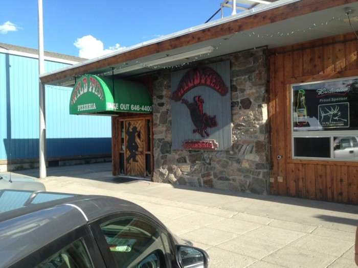10. Wild West Pizzeria and Saloon, West Yellowstone